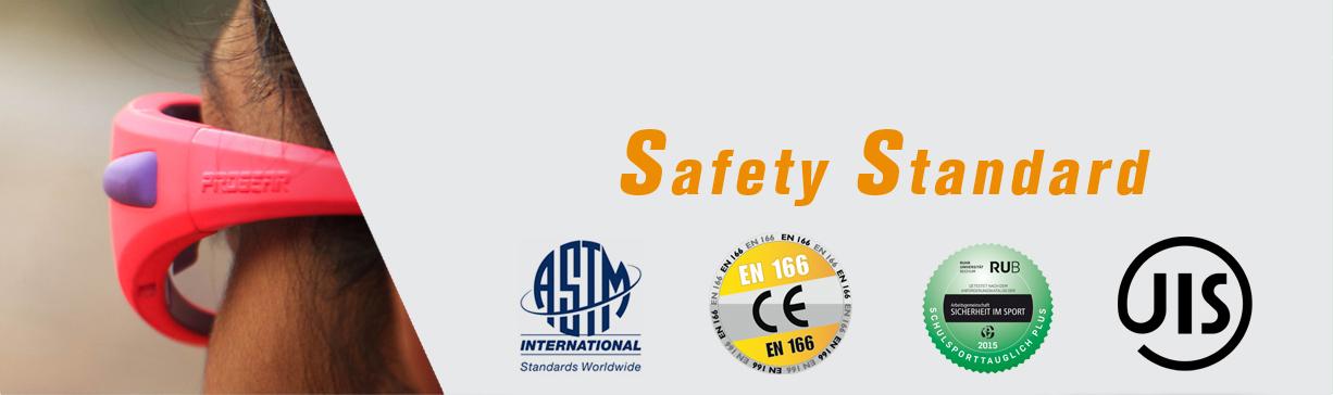 Safety Standard ASTM EN166 RUB JIS