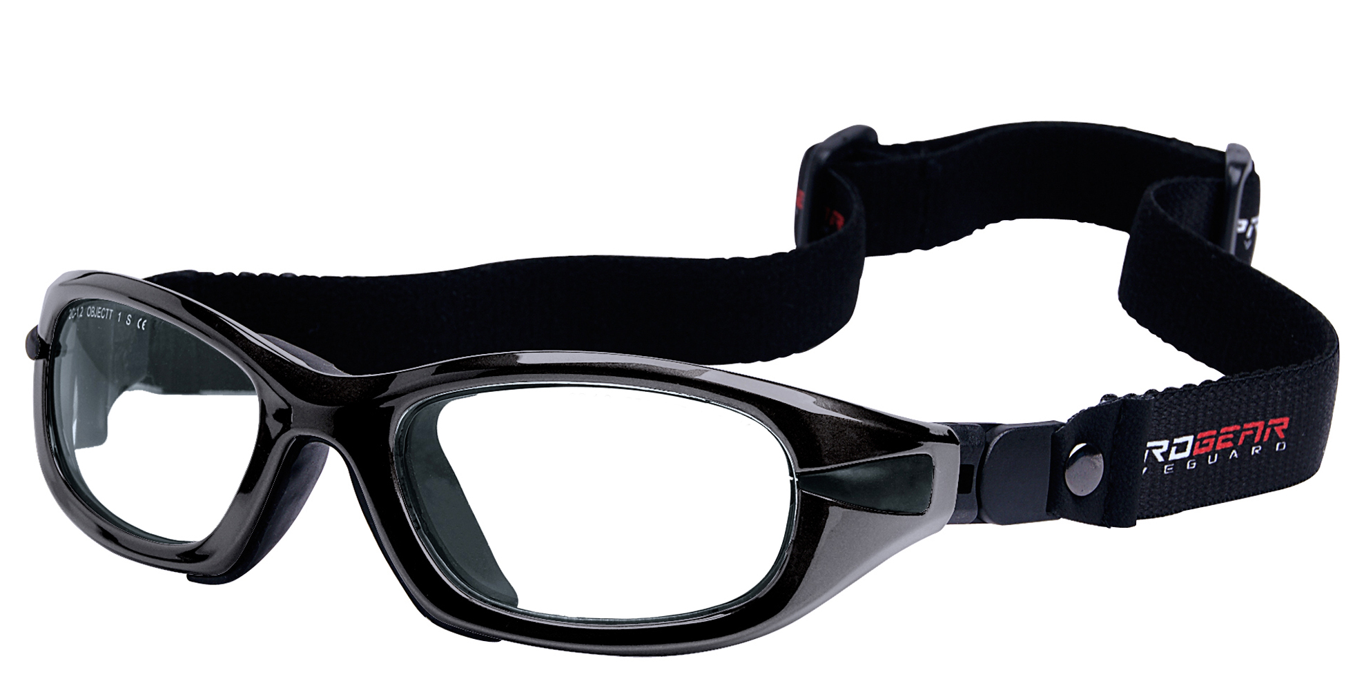 Shiny Metallic Black Strap version Eyeguard